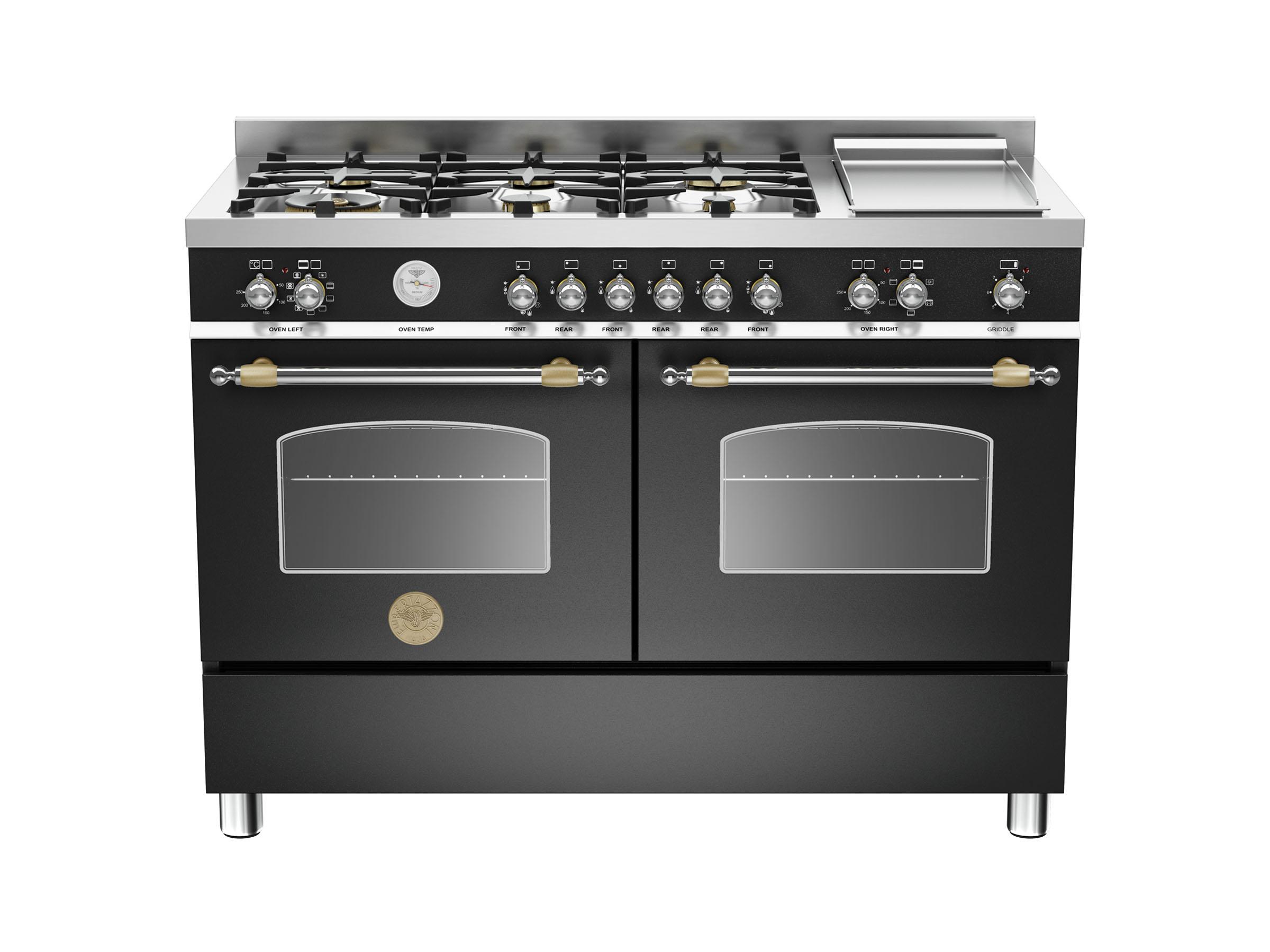 Fornuis Energieklasse A : Cm branders kookplaat elektrische dubbele oven